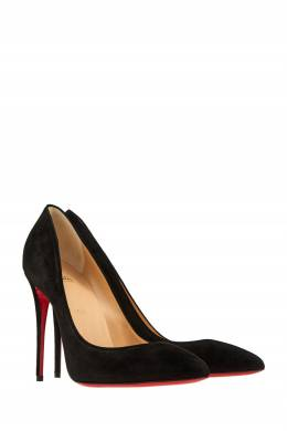 Замшевые туфли Pigalle Follies 100 Christian Louboutin 10657571