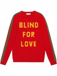 Gucci - свитер 'Blind for Love' 685X9I86905639650000
