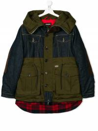 Dsquared2 Kids - TEEN contrast coat 0W8D66QW936355360000