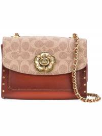 Coach - signature print shoulder bag 90666936063590000000