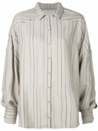 Esteban Cortazar - striped pattern loose shirt E69O5366990389885000