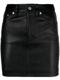 Iro - fitted short skirt 69WP39NEWA9305853300