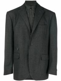 Corneliani - funnel neck blazer 55388935669399609300