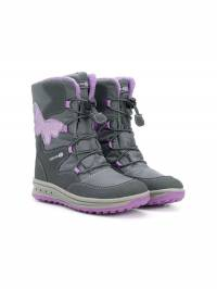 Geox Kids - Butterfly lace-up boots 0UA6FU56C96609398999