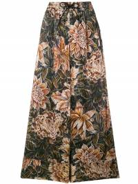 Y-3 - flower flared trousers 69393055999000000000