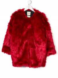 Andorine - oversized faux fur coat 98039365355500000000