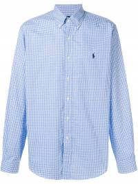 Ralph Lauren - vichy button shirt 36506993053335000000