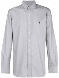 Ralph Lauren - logo long-sleeve fitted shirt 30099093935558000000