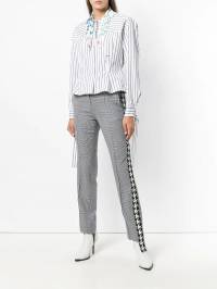 Off-White - stripe detail tailored trousers A630E98A356599966939