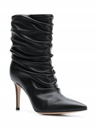 Gianvito Rossi - Cecile gathered boots 33085RICNAP939599560