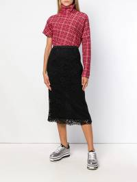 Antonio Marras - layered floral skirt 665TED55W99399930900