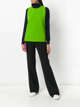 Victoria Victoria Beckham - flared tailored trousers V6899363650800000000