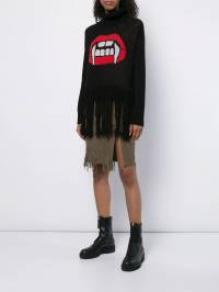 Haculla - Dying to live fringed skirt 68AHB609099555900000