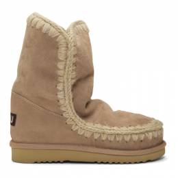 Mou Beige 24 Ankle Boots 182326F11400501GB