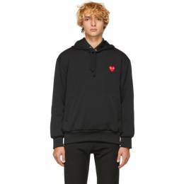 Comme Des Garcons Play Black Heart Patch Hoodie 191246M20200302GB