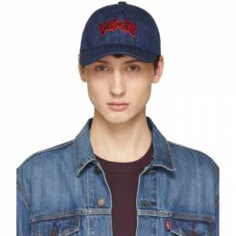A.P.C. Indigo Dolls Of Hell Aaron Cap 191252M13900101GB