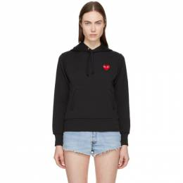 Comme Des Garcons Play Black Heart Patch Hoodie 181246F09700104GB
