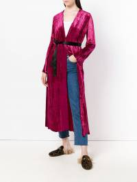 Forte Forte - belted robe coat 6MYCOAT9393666900000