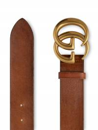 Gucci - Leather belt with Double G buckle 839CVE6T935565080000