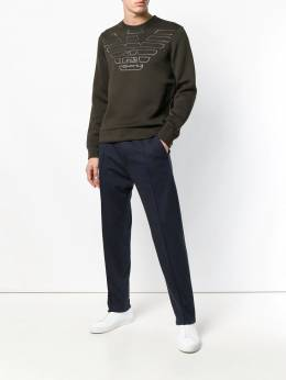 Armani Jeans - jersey tailored trousers 65S99S65939690060000