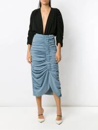 Framed - midi pleated skirt 55690956800000000000