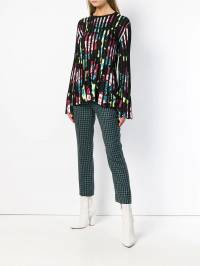 Kenzo - pleated floral sweater 0TO58085593990699000