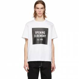Opening Ceremony White Box Logo T-Shirt 191261M21300203GB