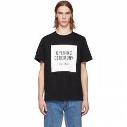 Opening Ceremony Black Box Logo T-Shirt 191261M21300303GB