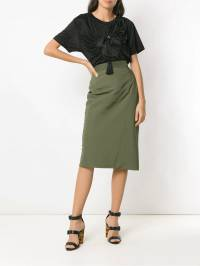 À La Garçonne - Memory pencil skirt 90959355666300000000