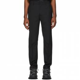 424 Black Tapered Trousers 182010M19100803GB