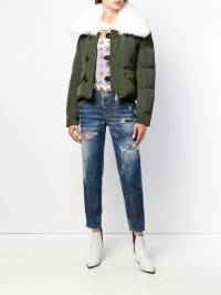 Dsquared2 - fur-trimmed down jacket AM6658S5935693935686
