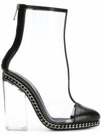 Balmain - clear ankle boots TYDAXS8FC056PPVG9390