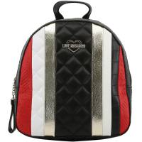 Love Moschino Multicolor Embossed Quilted Leather Backpack 167890