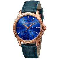 Rochas Dark blue Rose Gold Plated Stainless Steel RP1L013L0041 Women's Wristwatch 36MM 179645