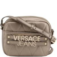 Versace Jeans Brown Faux Quilted Leather Crossbody Bag 161950