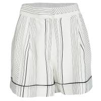 3.1 Phillip Lim Monochrome Pin Striped Silk Pajama Shorts M 119545