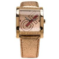 Gianfranco Ferre Pink Gold-Plated Stainless Steel 9046M Women's Wristwatch 36MM 67066