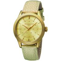 Rochas Champagne Gold Plated Stainless Steel RP1L013L0011 Women's Wristwatch 36MM 179644