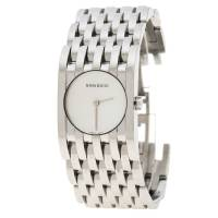 Nina Ricci White Mother of Pearl Stainless Steel N000113 Women's Wristwatch 25 mm 138419