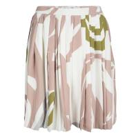 Dior Multicolor Printed Silk Pleated Skirt S 116910