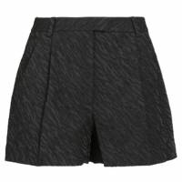 3.1 Phillip Lim Black Cuffed Bermuda Shorts M 6754
