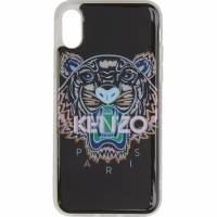 Kenzo Black and Pink Tiger iPhone X Case 191387M15300701GB