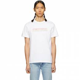 A.P.C. White Touitronic T-Shirt 191252M21301801GB