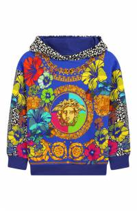Хлопковое худи Young Versace YVFFE140/YVEF19/6A