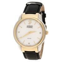 Gianfranco Ferre White Yellow Gold-Plated Steel Men's Wristwatch 40MM 179746