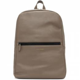 Common Projects Grey Simple Backpack 191133M16600101GB
