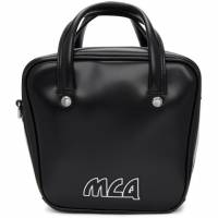 McQ Alexander McQueen Black Small Ivy Flip Bag