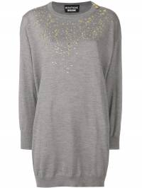 Boutique Moschino - embellished sweater dress 80696693050636000000