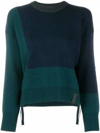 Kenzo - colour block knit sweater 0TO59380693066368000