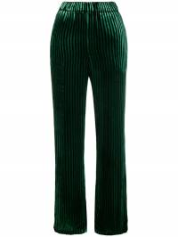 Faith Connexion - high-waisted striped trousers 98T66659930695680000